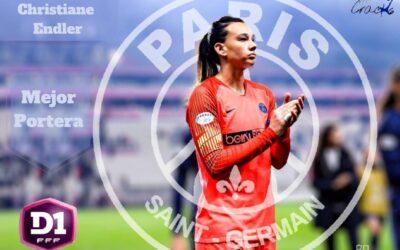 Endler Mejor Portera De La Liga Francesa