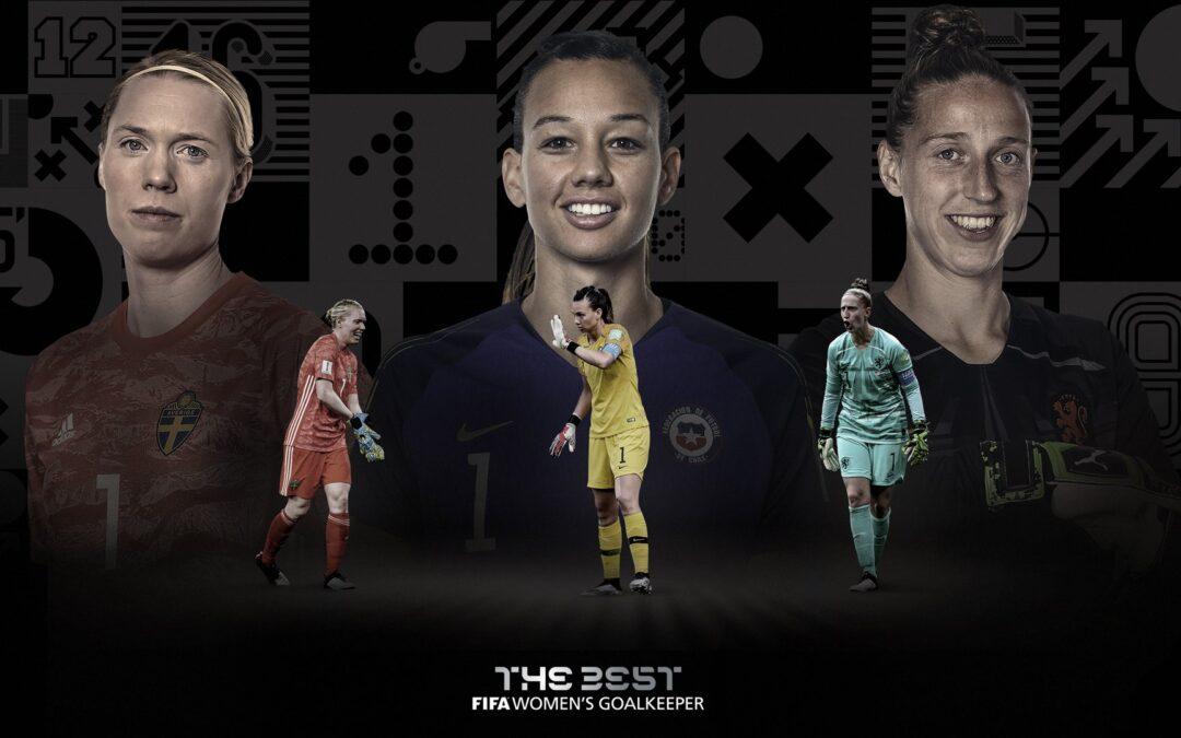 """Christiane entre las 3 porteras nominadas al """"THE BEST"""" por la FIFA"""