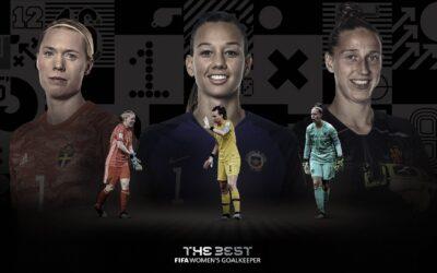 Christiane entre las 3 porteras nominadas al «THE BEST» por la FIFA